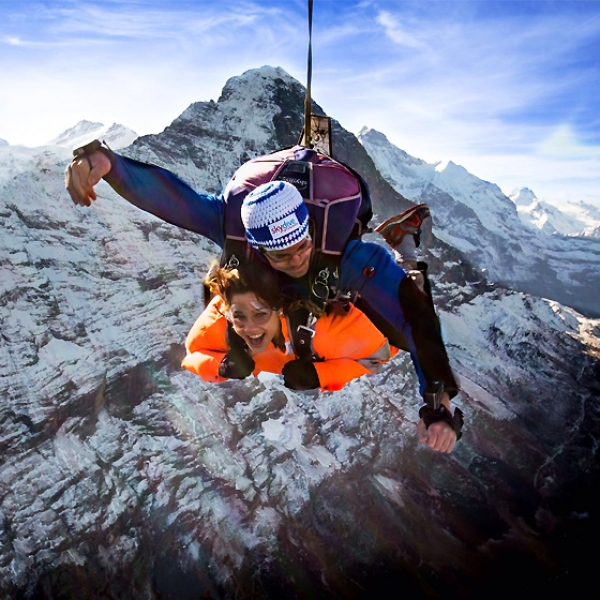 Eiger Jump Grindelwald