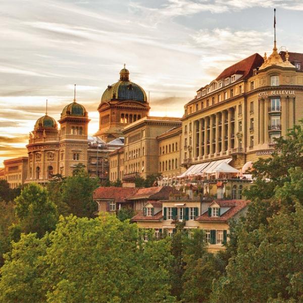 Luxus pur im Bellevue Palace Bern mit Höhenflug