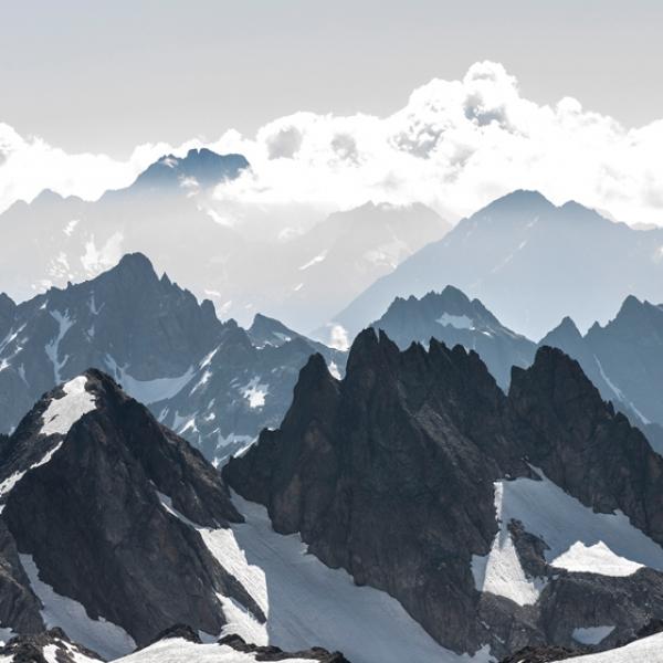 Titlis und Zentralschweizer Alpenflug