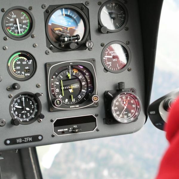 Schnupperkurs Helikopterfliegen