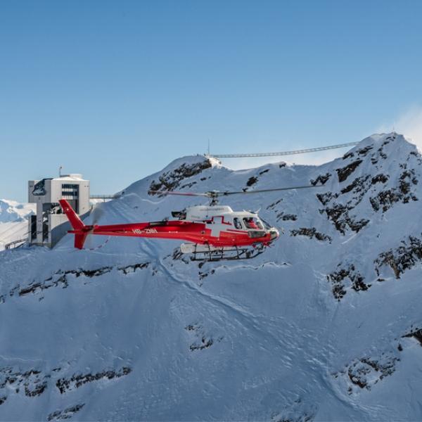Gletscherflug Glacier 3000, Les Diablerets