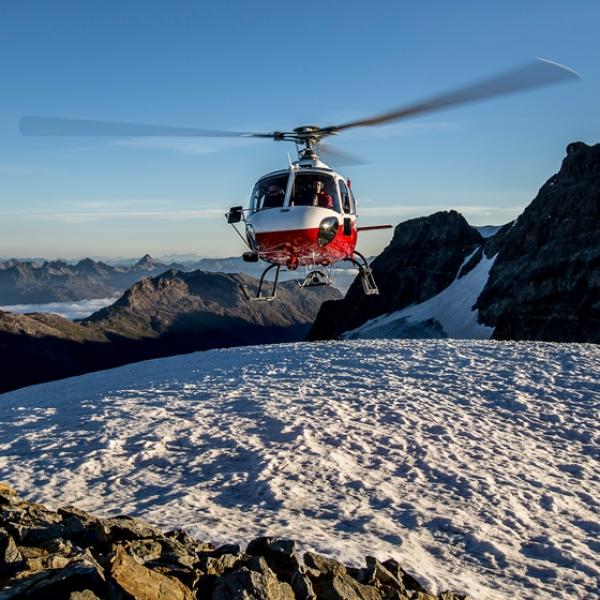Helikopter - Ski - Bad