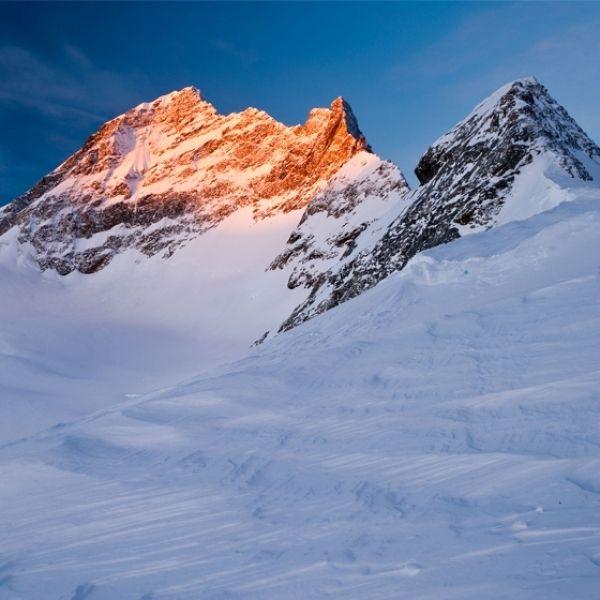 Grande volo sui ghiacciai/patrimonio dell'umanità UNESCO