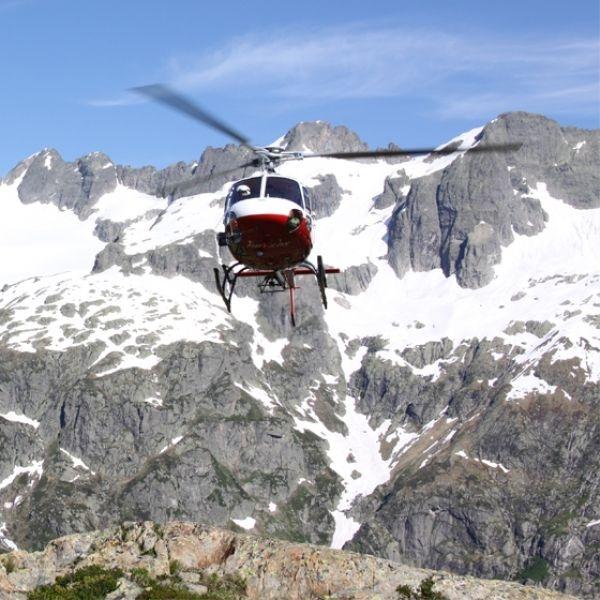 Grosser Alpenpässe Flug
