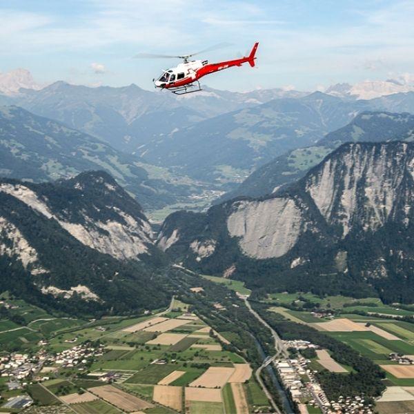 Volo «Ländle» sul Principato del Liechtenstein