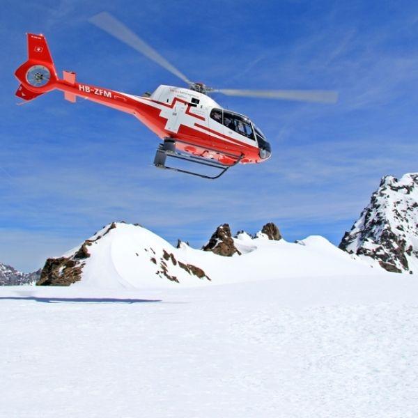 Eigernordwand und Berner Alpenflug