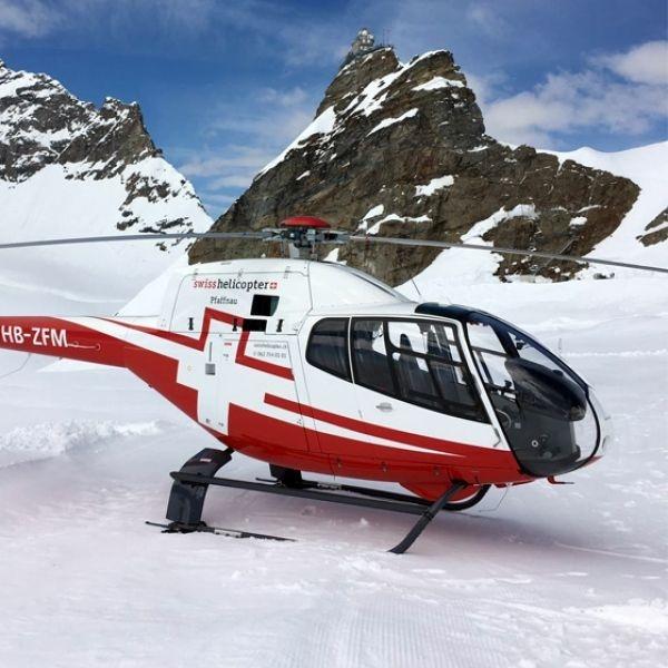 Eigernordwand - Mittagessen auf dem Jungfraujoch