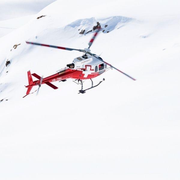 Grosser Gletscherflug ab Schattenhalb