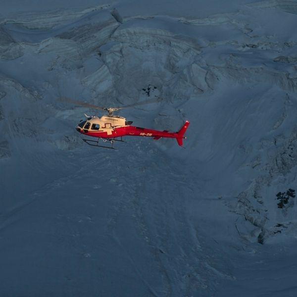 Titlis Gletscherflug