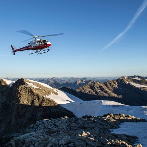 Grosser Gletscherflug Urner Alpen