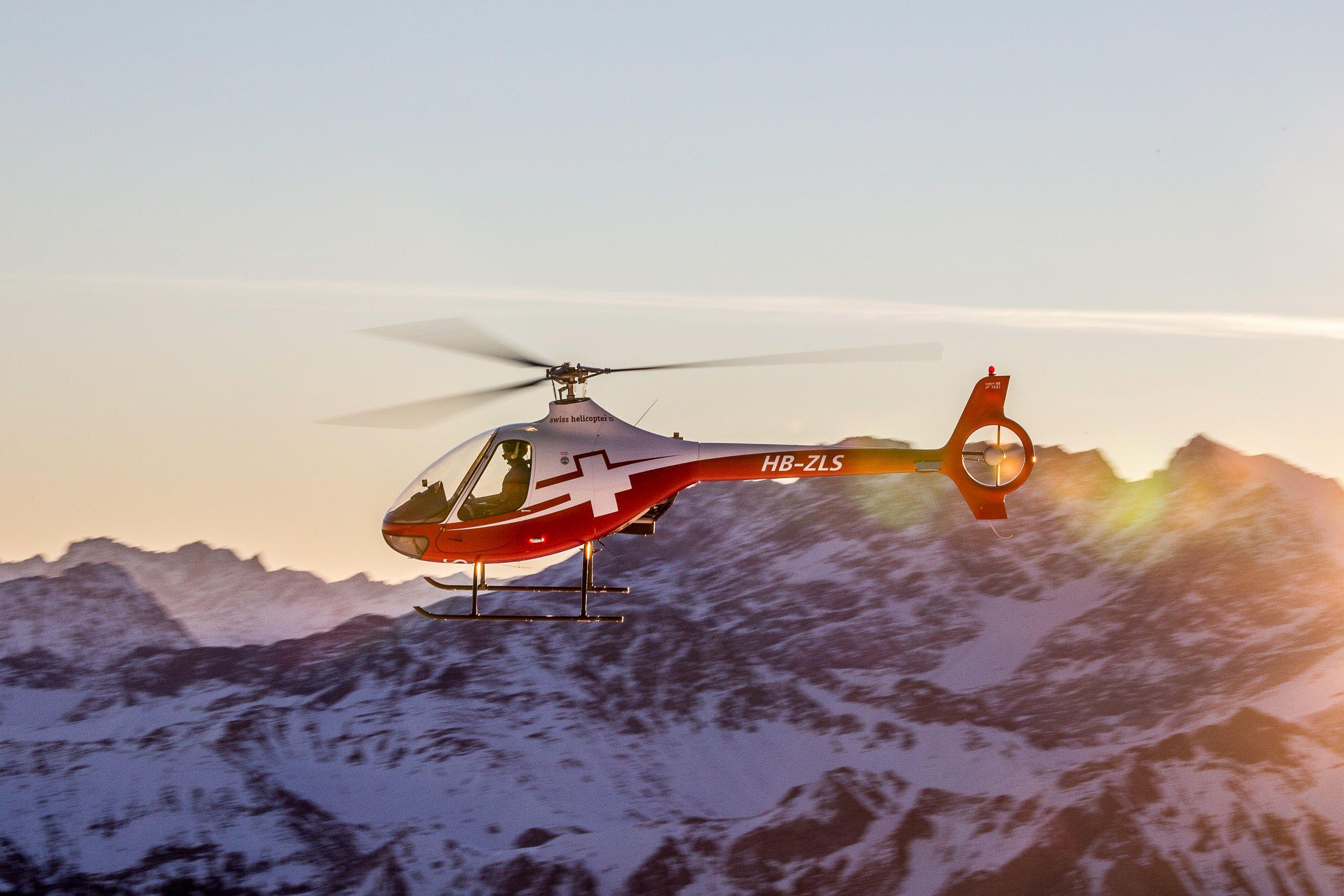 Helikopter-Rundlflug-Schweiz