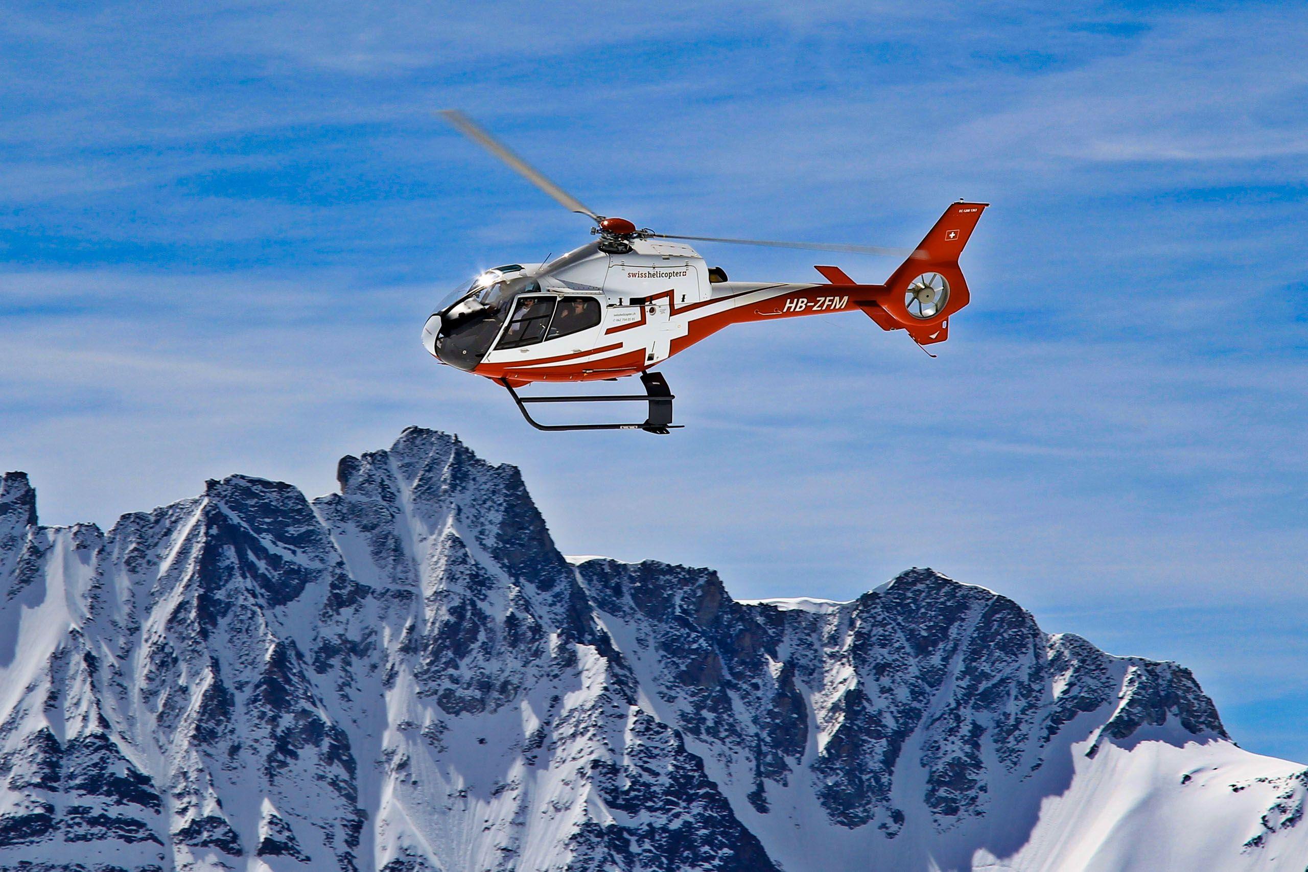 Helikopterflug-Schweiz