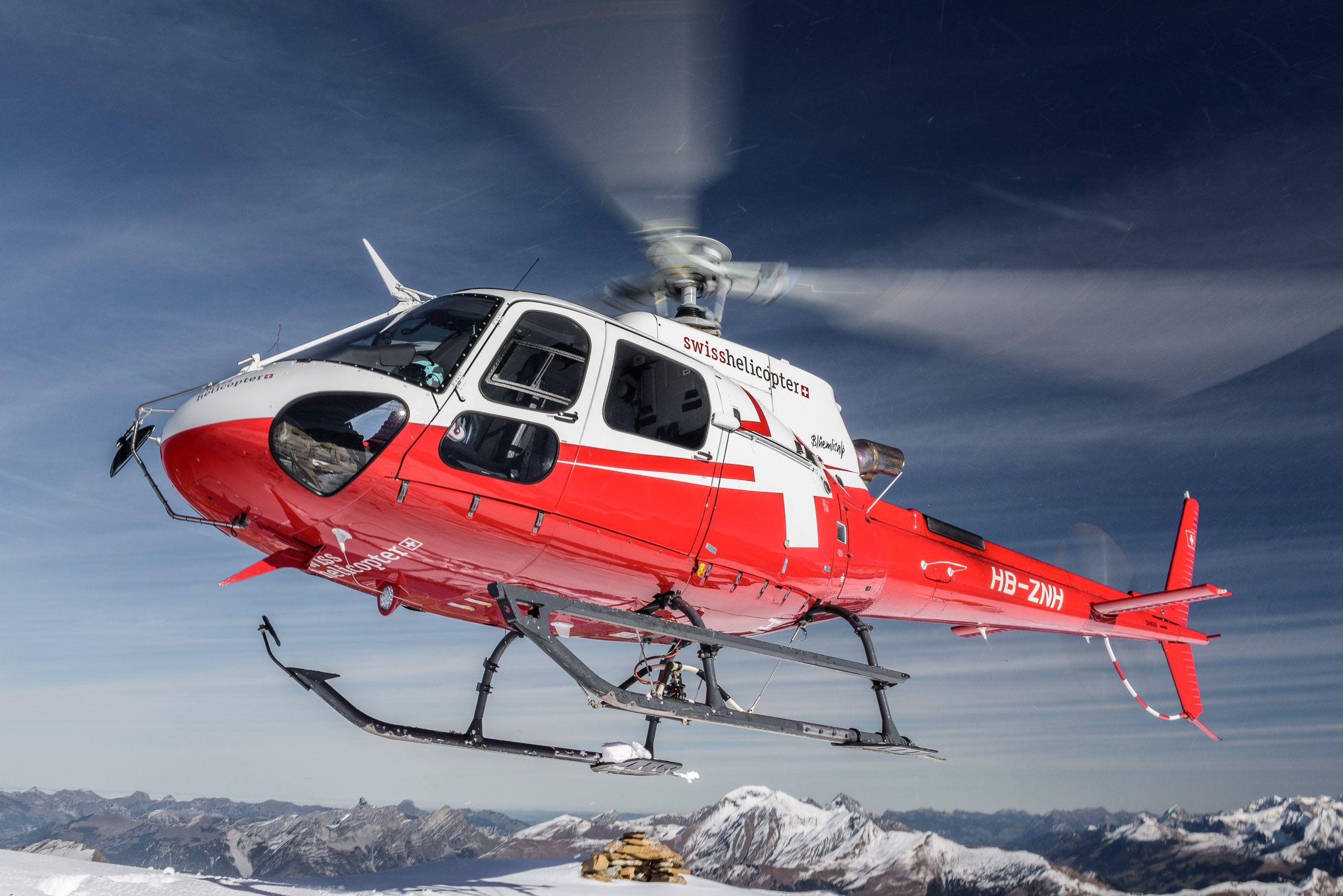 Helikopterflug-in-Schweizer-Alpen