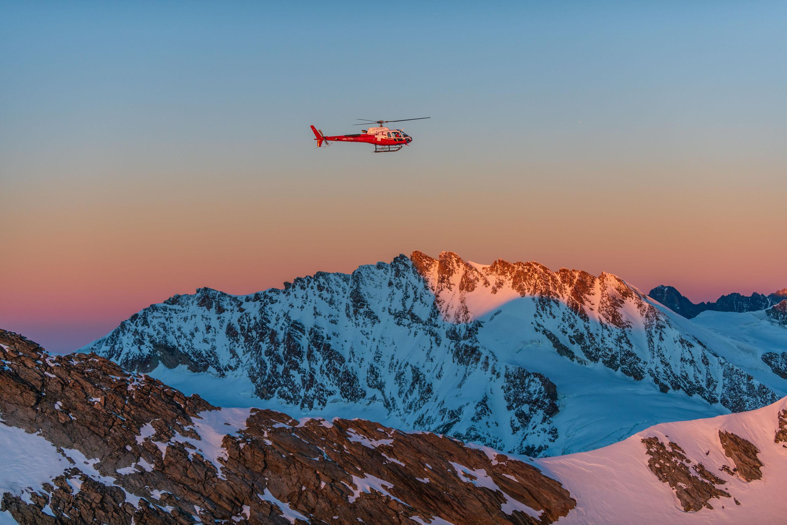 Helikopterflug_Schweiz
